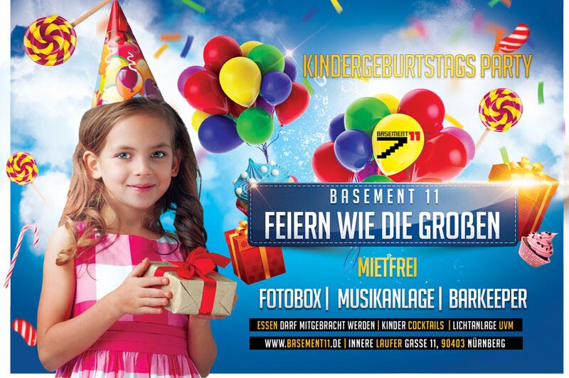 Kindergeburtstag feiern im Basement 11